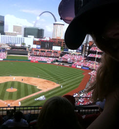 St. Louis Cardinals vs. the Chicago Cubs