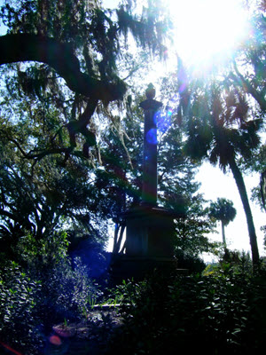Bonaventure Cemetery. 160 square mile public cemetery on the Wilmington River