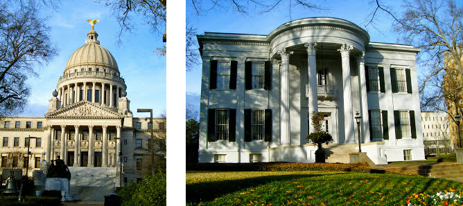 Jackson Capital and Governor's Mansion
