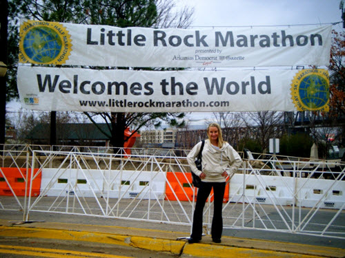 Little Rock Marathon Start